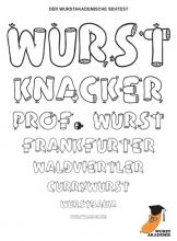 Der Sehtest von Prof. Wurst