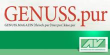 Logo von GENUSS.pur und vom Österr. Agrarverlages