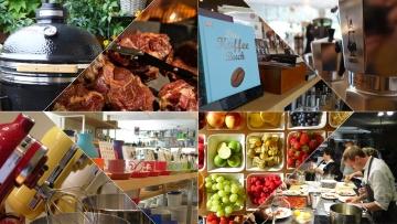 Details aus unserem Shop & Impressionen von unseren Grill- und Kochabenden